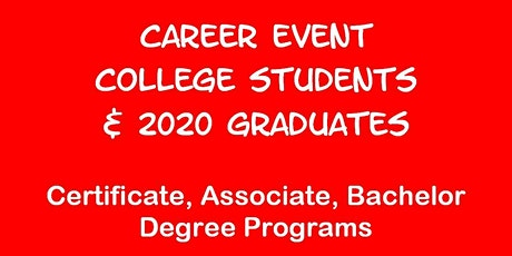 Career Event for UTAH VALLEY U. Students tickets