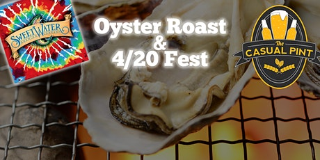 Oyster Roast and 4/20 Celebration tickets