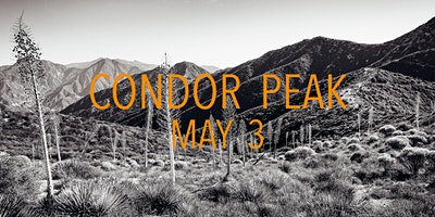 Condor Peak Trail Work May 3rd