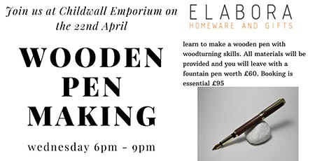Wood turning for beginners - make your own pen tickets