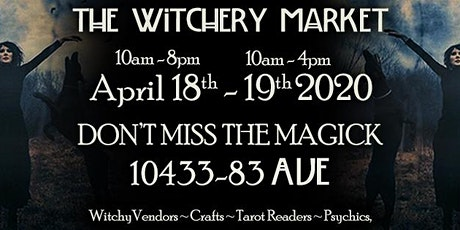 The Witchery Market ~ April 18th & 19th tickets