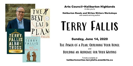 Haliburton Reads & Writes Presents: A Day of Workshops with Terry Fallis tickets