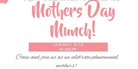 New Creation Mothers Day Munch tickets