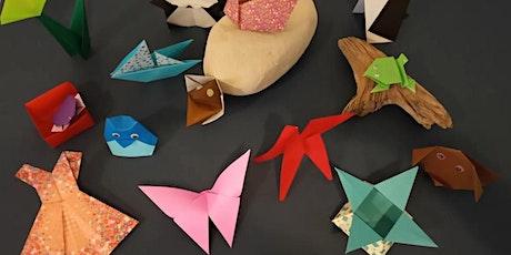 Kids origami workshop billets