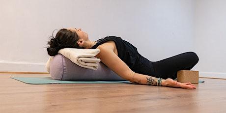 Yin Yoga & Gong Sound Bath with Nina & Sattva Wellness tickets