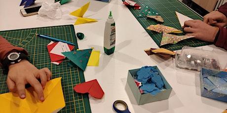 Origami workshop for kids billets