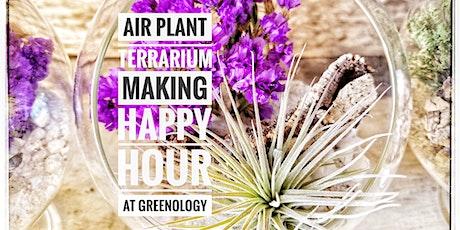 Terrarium Making Happy Hour At Greenology Terrarium Bar tickets