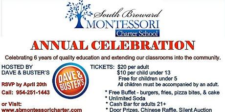 South Broward Montessori Charter School Annual Celebration tickets