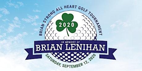 2nd Annual Brian Strong All Heart Memorial Golf Tournament tickets