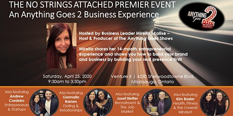 The Anything Goes 2 Business No Strings Attached Business Experience tickets