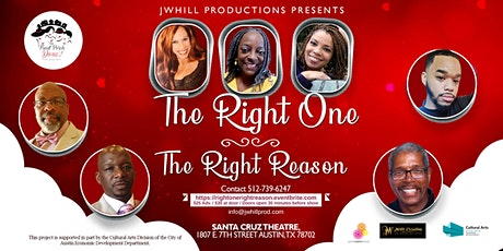 The Right One, The Right Reason tickets