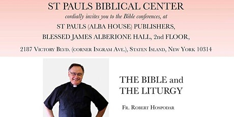 The Bible and the Liturgy - Cancelled due to Virus Concerns tickets
