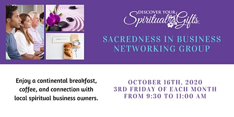 Sacredness in Business Networking Group tickets