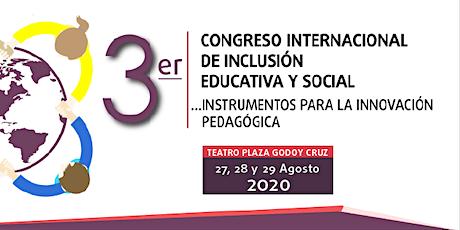 3° Congreso Internacional de Inclusión Educativa y Social entradas
