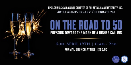 Epsilon Nu Sigma 48th Chapter Anniversary Celebration tickets