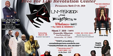 UNMASKed: The Experience - TWO DAYS / TWO LOCATIONS!! tickets