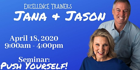 PUSH YOURSELF with Jana and Jason tickets