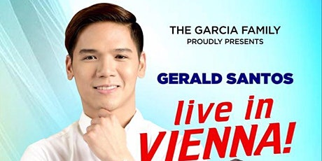 Charity Concert - Gerald Santos live in Vienna + Special Guests Tickets