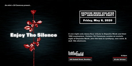 Enjoy The Silence: Depeche Mode Violator 30th Anniversary Party tickets