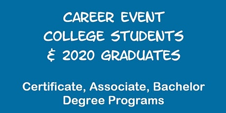 Career Event for CSU NORTHRIDGE Students tickets