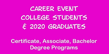 Career Event for U NORTH TEXAS Students tickets