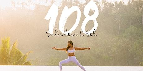 108 Saludos al Sol: Yoga de Primavera entradas