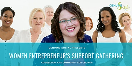April Women Entrepreneur's Support Gathering - Genuine Social(TM) tickets