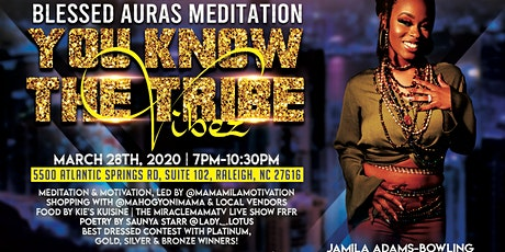 Blessed Auras Meditation: YKTTV tickets