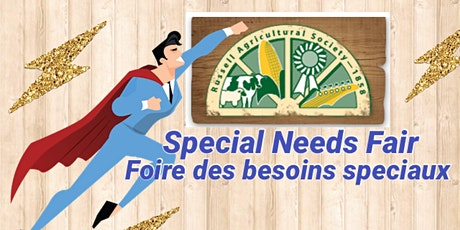 Super Hero event for kids with special needs (Russell Agricultural Society - Fair) tickets