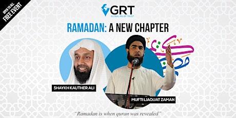 RAMADAN: A New Chapter (Birmingham) tickets