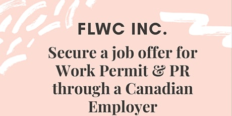 WORK PERMIT AND PERMANENT RESIDENT JOBS SEMINAR tickets