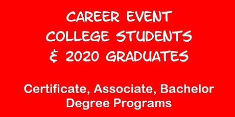 Career Event for UC SAN DIEGO & SD STATE U.Students tickets