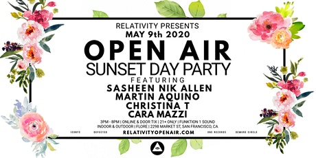 Postponed - Relativity 003: Open Air Day Party tickets