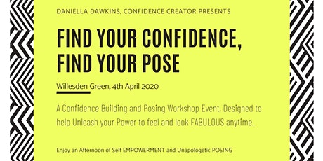 Find Your Confidence, Find Your Pose tickets