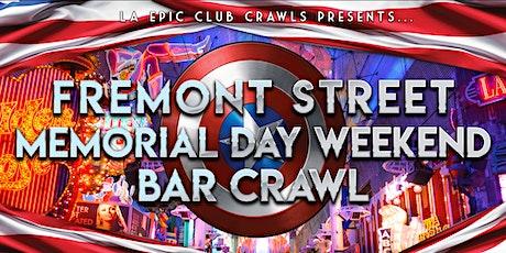 2020 Memorial Day Weekend Fremont Street Bar Crawl tickets