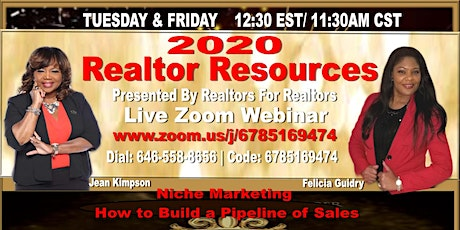Realtor Resources -Houston Tuesday & Friday with Felicia Guidry  tickets