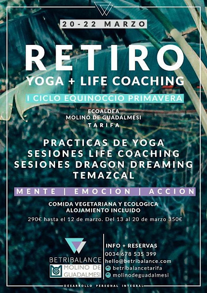 Imagen de RETIRO YOGA +COACHING LIFE