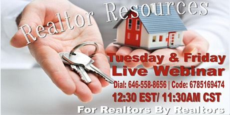 Realtor Resources -Houston Tuesday & Friday Felicia Guidry  tickets