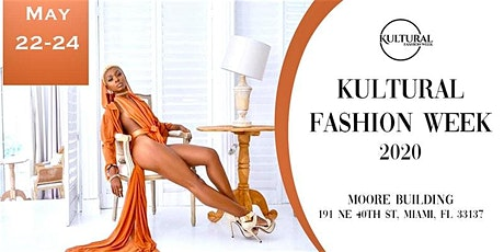 Kultural Fashion Week 2020 tickets