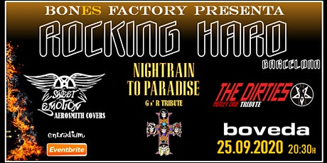 ROCKING HARD BARCELONA entradas