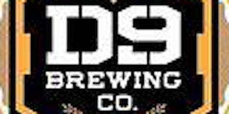 D9 Brewing Beer Tasting tickets