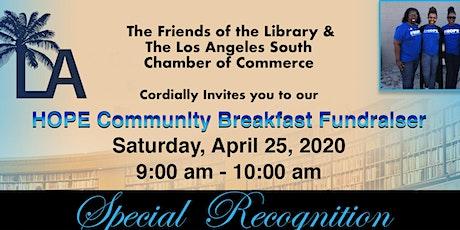 Hope Fundraiser Breakfast tickets