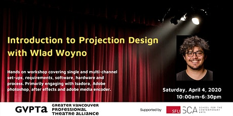 Introduction to Projection Design with Wlad Woyno tickets