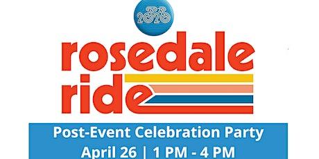 Rosedale Ride Post-Ride Celebration tickets
