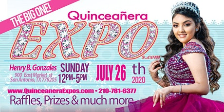 Quinceanera Expo San Antonio July 26th 2020 At the Henry B. Gonzalez From 12 to 5 tickets
