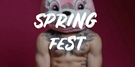 Spring Fest boletos