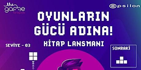 ERTELENDİ! Oyunların Gücü Adına! Ercan Altuğ YILMAZ'ın Yeni Kitap LANSMANI tickets