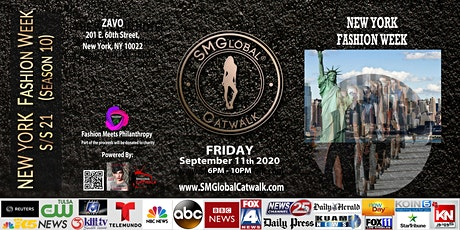NEW YORK FASHION WEEK S/S 21 - Sept 11th 2020 tickets