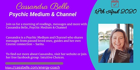Morning Messages with Cassandra Belle tickets