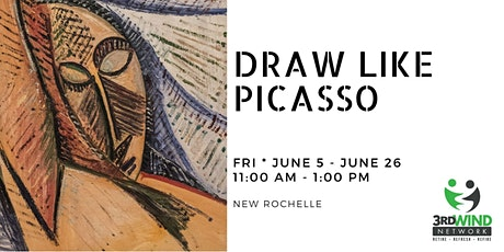 Draw Like Picasso tickets